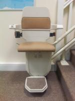 Factory Reconditioned Curved Stairlift